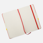 Moleskine Classic Large Squared Notebook Red 240 pgs photo- 3