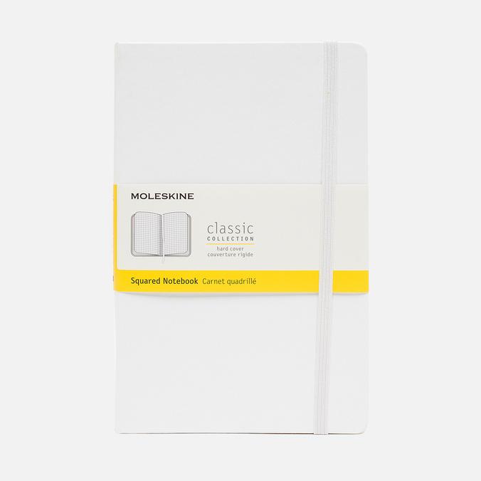 Записная книжка Moleskine Classic Large Squared White 240 pgs