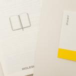 Moleskine Classic Large Squared Notebook White 240 pgs photo- 4