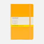 Moleskine Classic Large Squared Notebook Yellow 240 pgs photo- 0