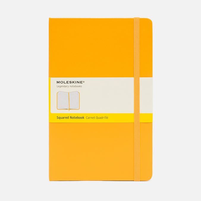 Записная книжка Moleskine Classic Large Squared Yellow 240 pgs