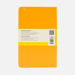 Moleskine Classic Large Squared Notebook Yellow 240 pgs photo- 1