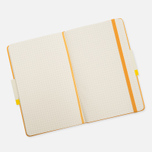 Moleskine Classic Large Squared Notebook Yellow 240 pgs photo- 2