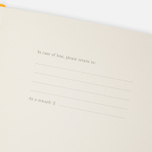 Moleskine Classic Large Squared Notebook Yellow 240 pgs photo- 3