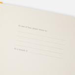 Записная книжка Moleskine Classic Large Squared Yellow 240 pgs фото- 3