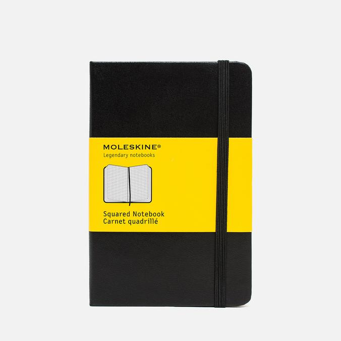 Записная книжка Moleskine Classic Pocket Squared Black 192 pgs