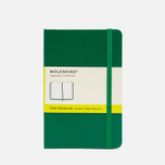 Moleskine Classic Pocket Notebook Green 192 pgs photo- 0