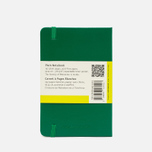 Moleskine Classic Pocket Notebook Green 192 pgs photo- 1