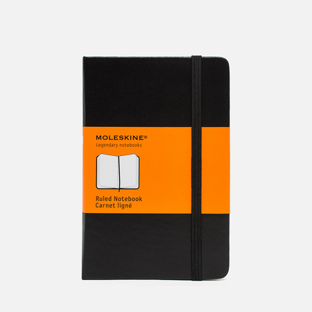 Moleskine Classic Pocket Line Notebook Black 192 pgs