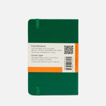 Moleskine Classic Pocket Line Notebook Green 192 pgs photo- 1