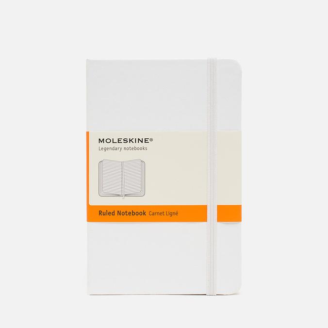 Moleskine Classic Pocket Line Notebook White 192 pgs
