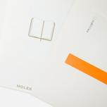 Moleskine Classic Pocket Line Notebook White 192 pgs photo- 3