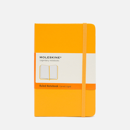 Moleskine Classic Pocket Line Notebook Yellow 192 pgs