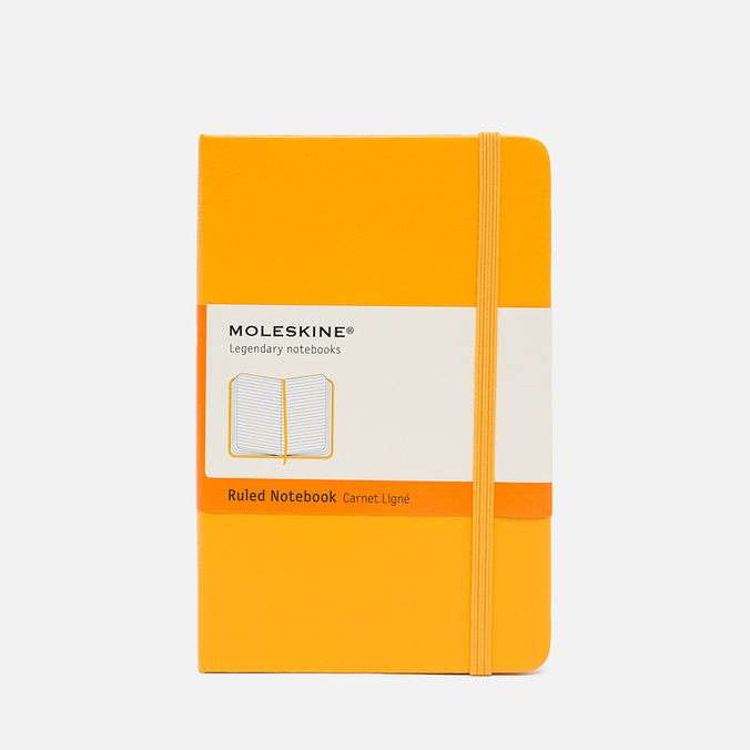 Записная книжка Moleskine Classic Pocket Line Yellow 192 pgs