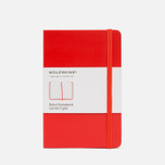 Записная книжка Moleskine Classic Pocket Red 192 pgs фото- 0