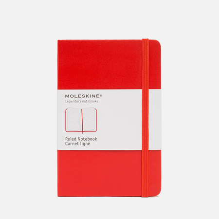 Записная книжка Moleskine Classic Pocket Red 192 pgs