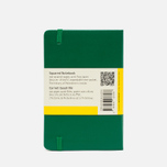 Moleskine Classic Pocket Squared Notebook Green 192 pgs photo- 1