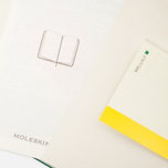 Moleskine Classic Pocket Squared Notebook Green 192 pgs photo- 3