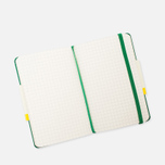 Moleskine Classic Pocket Squared Notebook Green 192 pgs photo- 4