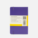 Записная книжка Moleskine Classic Pocket Squared Purple 192 pgs фото- 1
