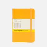 Записная книжка Moleskine Classic Pocket Squared Yellow 192 pgs фото- 0