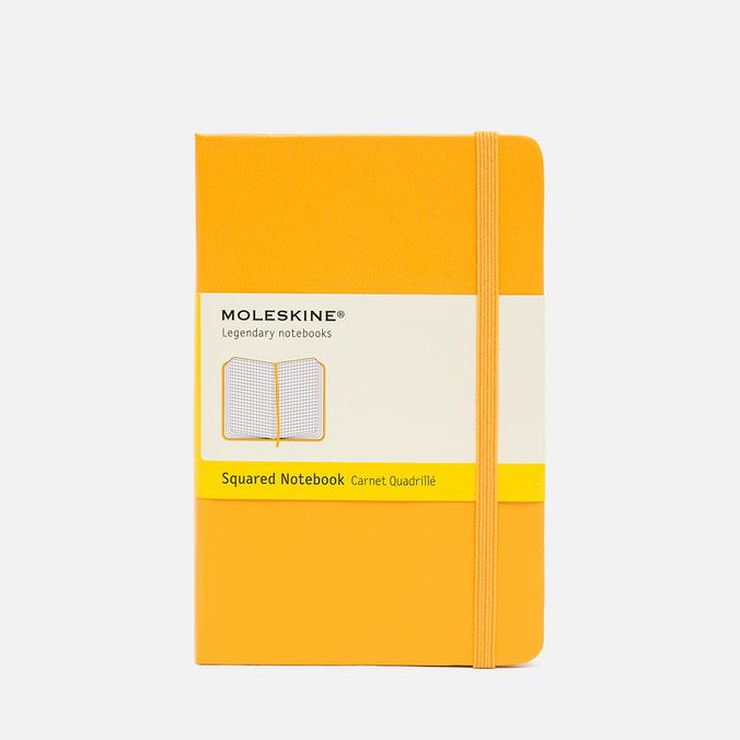 Записная книжка Moleskine Classic Pocket Squared Yellow 192 pgs