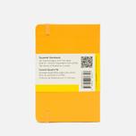 Записная книжка Moleskine Classic Pocket Squared Yellow 192 pgs фото- 1