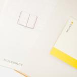 Записная книжка Moleskine Classic Pocket Squared Yellow 192 pgs фото- 3