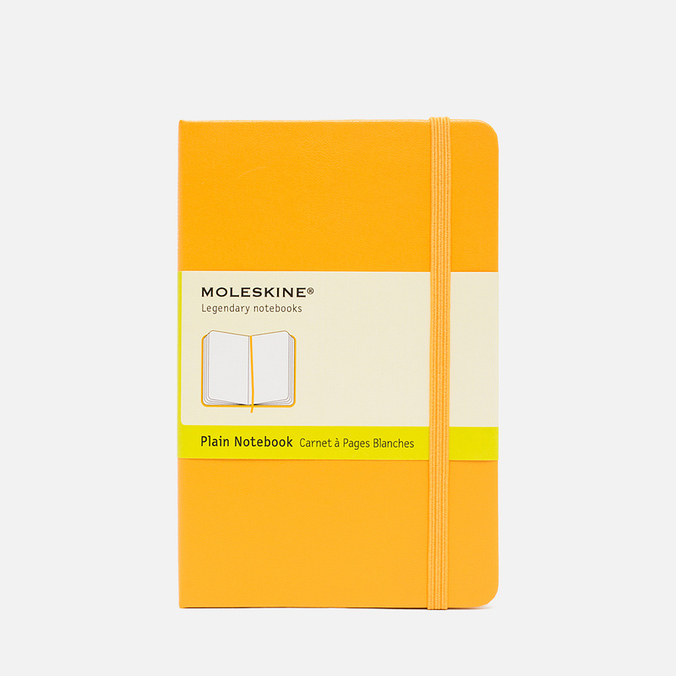 Moleskine Classic Pocket Notebook Yellow 192 pgs