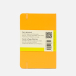 Moleskine Classic Pocket Notebook Yellow 192 pgs photo- 1