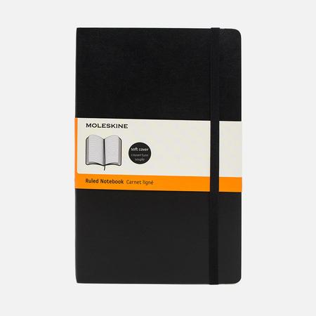 Записная книжка Moleskine Classic Soft Large Line Black 192 pgs
