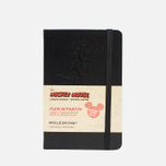 Записная книжка Moleskine Mickey Mouse Pocket Black 192 pgs фото- 0
