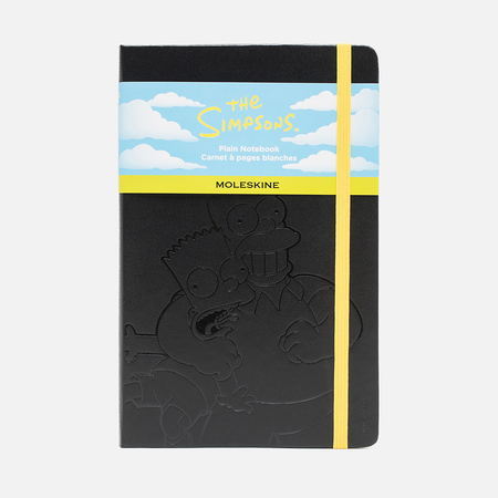Записная книжка Moleskine The Simpsons Large Black 240 pgs