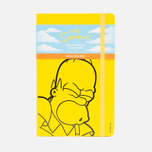 Записная книжка Moleskine The Simpsons Large Line Yellow 240 pgs фото- 0