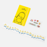 Записная книжка Moleskine The Simpsons Large Line Yellow 240 pgs фото- 7