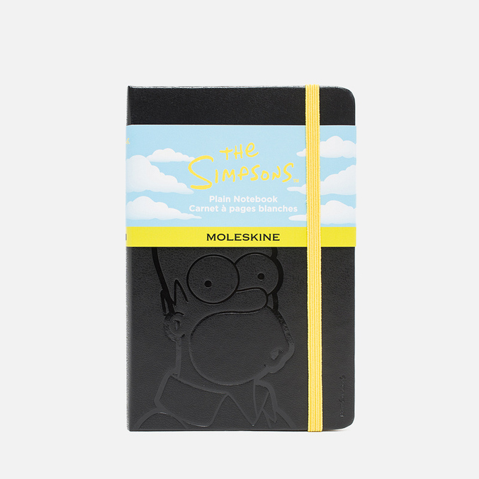 Записная книжка Moleskine The Simpsons Pocket Black 192 pgs