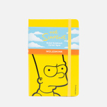 Записная книжка Moleskine The Simpsons Pocket Line Yellow 192 pgs фото- 0