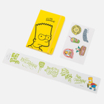 Записная книжка Moleskine The Simpsons Pocket Line Yellow 192 pgs фото- 6