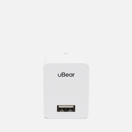 Зарядное устройство uBear Dual USB Wall 1.0 A White