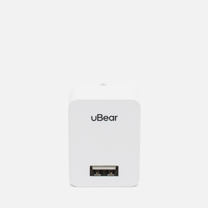 uBear Dual USB Wall 1.0 A Car Battery Charger White