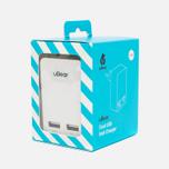 Зарядное устройство uBear Dual USB Wall 3.4 A White фото- 6