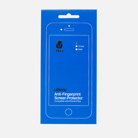 Защитная пленка uBear Anti-Fingerprint IPhone 6 Plus Matte