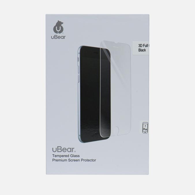 Защитное стекло uBear 3D Full Cover iPhone 7 Plus Premium 0.33mm Black