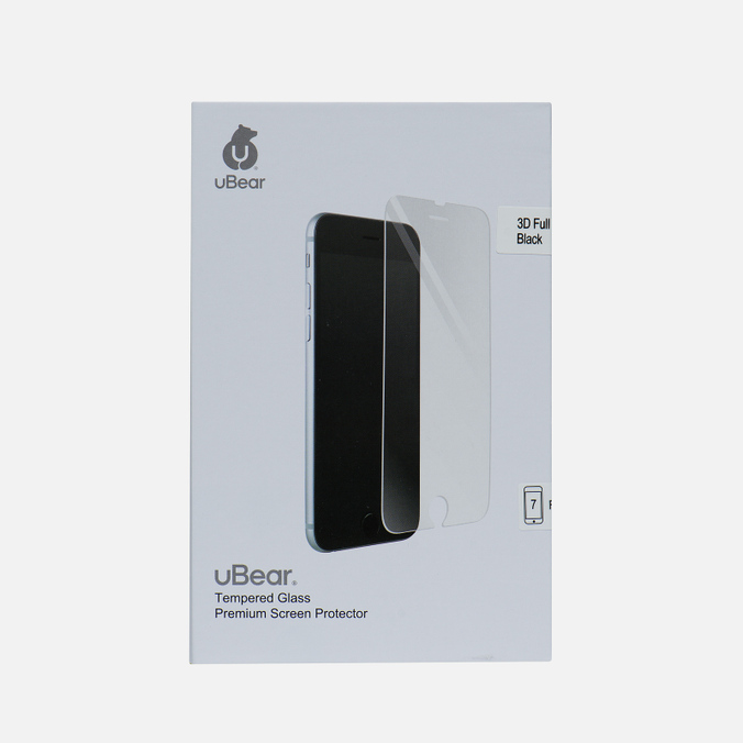 Защитное стекло uBear 3D Full Cover iPhone 7 Premium 0.33mm Black