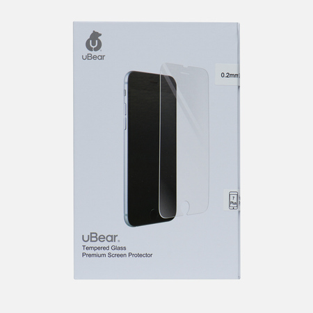 Защитное стекло uBear Tempered iPhone 7 Plus Premium 0.2mm Transparent