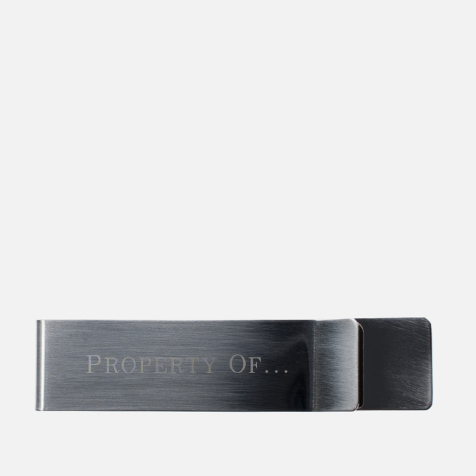Зажим для денег Property Of... Metal Money Clip
