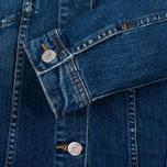 Женская джинсовая куртка Edwin W' Chanty CS Night 11 Oz Blue Mid Skim Used фото- 4