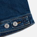 Женская джинсовая куртка Edwin W' Chanty CS Night 11 Oz Blue Mid Skim Used фото- 5