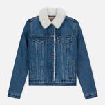 Женская джинсовая куртка Levi's Authentic Sherpa Movin Shakin фото- 0
