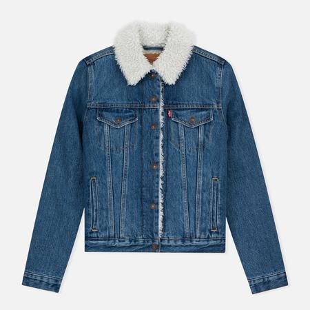 Levi's Authentic Sherpa Movin Women's Denim Jacket Shakin